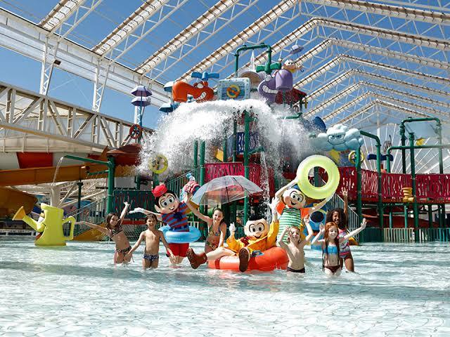 melhores parque aquáticos brasileiros