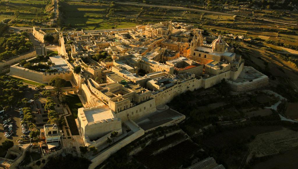 Aerial_view_Mdina_Malta